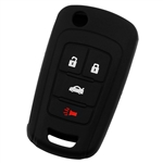 Key Fob Keyless Entry Remote Cover Protector for 2010-2016 Chevy GMC