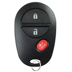 New Keyless Entry Remote Key Fob for Toyota GQ43VT20T 3BTN