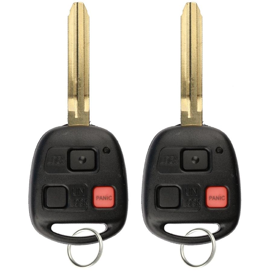 2 New Keyless Entry Remote Key Fob For 1998 2002 Toyota Land Cruiser Hyq1512v 4c
