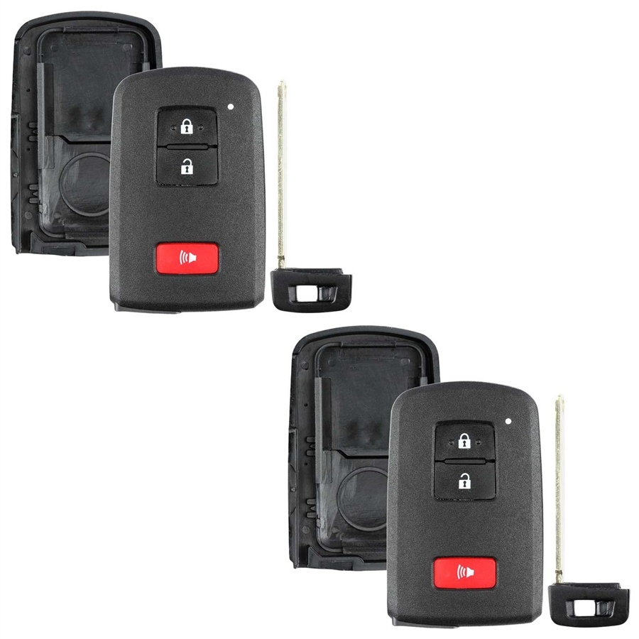 2 Case Shell For Toyota Prius C Tacoma Keyless Entry
