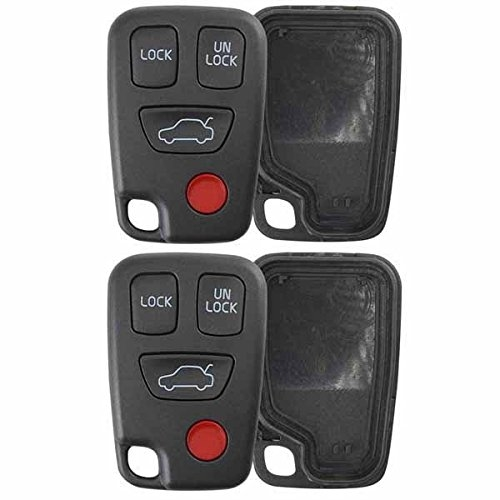 2 case shell for volvo c70 s40 s70 s90 v40 v70 v90 remote entry keyrelated products 2 new keyless entry remote key fob for volvo