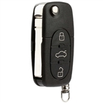 New Keyless Entry Remote Flip Key Fob for 1998-2001 Volkswagen Beetle Cabrio Golf Jetta Passat (HLO1J0959753F)