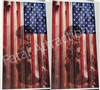 American Flag Boards Battle Cross Cornhole Cover Wrap