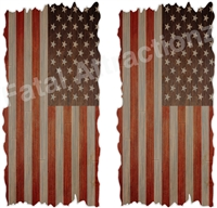 American Flag Boards Cornhole Cover