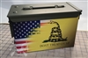 American Gadsden Flag Ammo Can Wrap pair