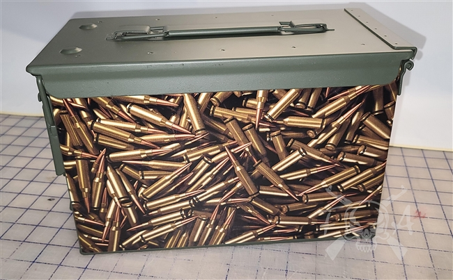 Bullets Ammo Can Wrap pair