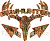 Camo Orange Bowhunter Deer Skull S4 Arrows