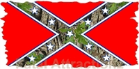 Confederate Camo Flag
