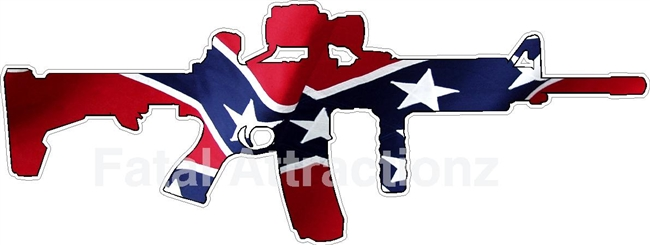 Confederate Flag AR15