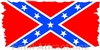 Confederate Flag Flat