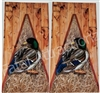 Grass Camo Boards Duck Cornhole Cover Wrap