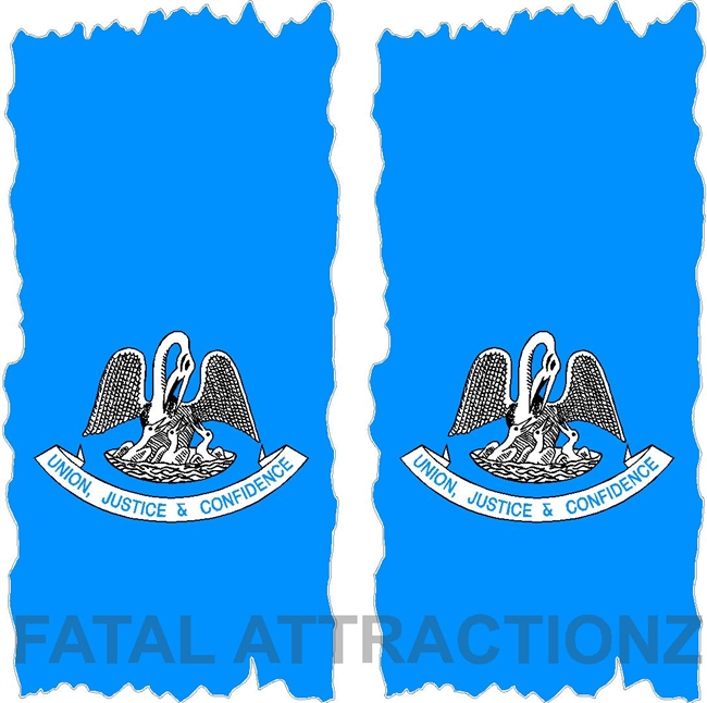 Louisisana Flag Cornhole Cover