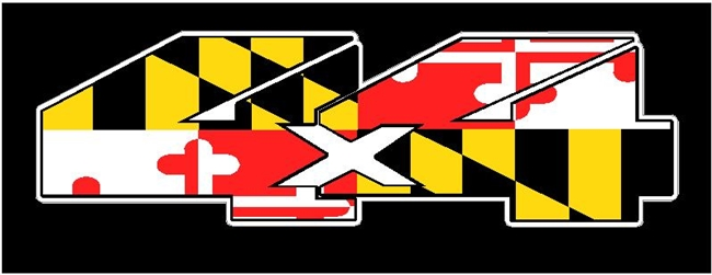 Maryland Flag 4x4 S4