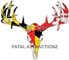 Maryland Flag Deer Skull S4
