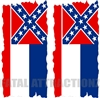 Mississippi Flag Cornhole Cover