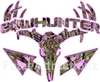 Pink Camo Bowhunter Deer Skull S4 Arrows