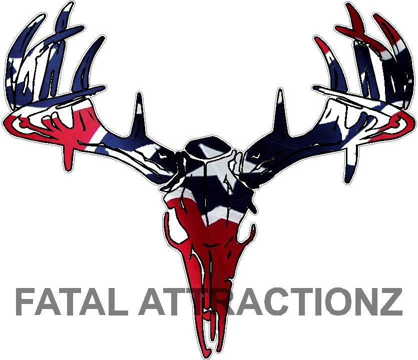 rebel flag deer skull s4