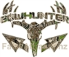 Tan Camo Bowhunter Deer Skull S4 Arrows