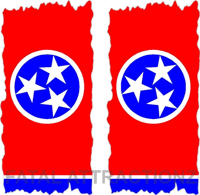 Tennesse Flag Cornhole Cover