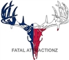 Texas Flag Deer Skull S4