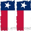 Texas Flag Flat Cornhole Cover