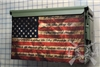Distressed American Flag Pledge of Allegiance Ammo Can Wrap pair