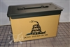 Gadsden Flag Ammo Can Box Wrap Set