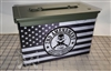 Homeland Security American Flag Ammo Can Box Wrap Set