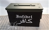 Infidel Flag Ammo Can Box Wrap Set