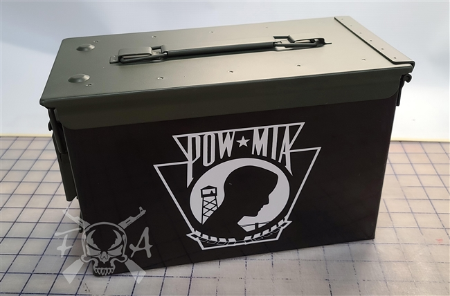 POW MIA Keystone Flag Can Box Wrap Set