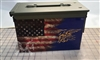 Ripped American Flag Distressed Navy Seal Ammo Can Box Wrap Set
