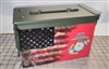 Ripped American Flag Distressed Marine Ammo Can Box Wrap Set