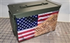 Ripped American Flag We The People Ammo Can Box Wrap Set