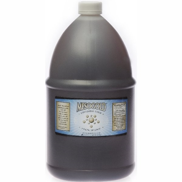 MesoGold ® Colloidal Gold 1 Gallon (3.785 Liters)