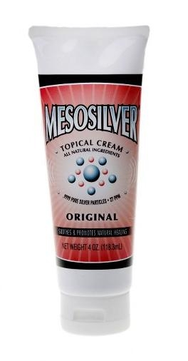 MesoSilver ® Colloidal Silver Topical Cream 4 oz.