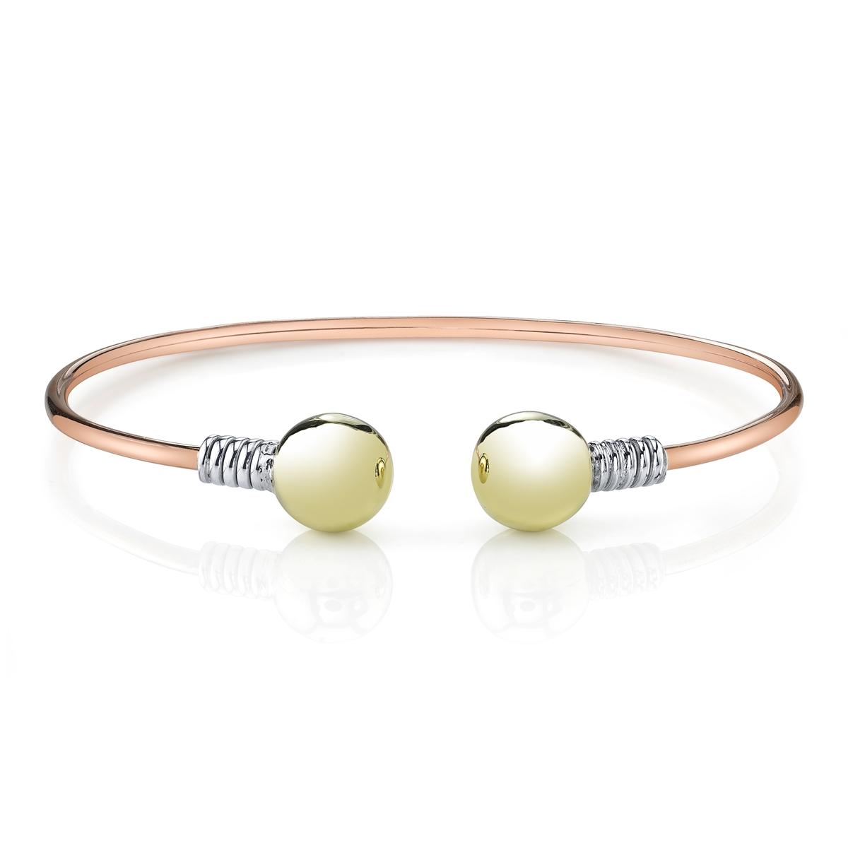 Sterling /& Brass Bracelet