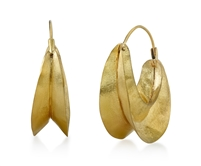 Fulani Brass Earrings Handmade