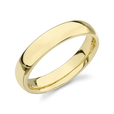 Classico Elite- Marry Me 18k Domed Comfort Fit Wedding Band- 5mm