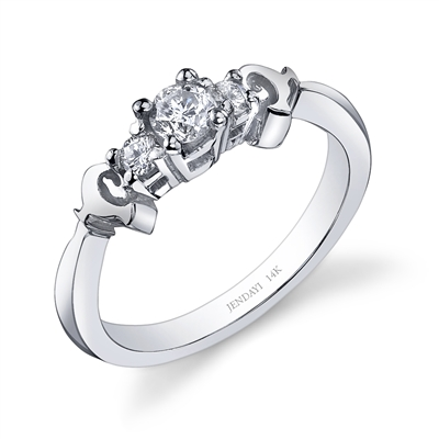 Sankofa Bird Platinum Engagement Ring