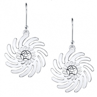 Sesa Wo Suban Sterling Silver Drop Earrings