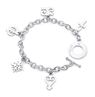 Path  Story Bracelet in sterling silver