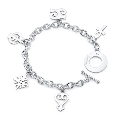 Path Story Charm Bracelet in sterling silver