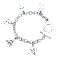 Power Story Bracelet in sterling silver