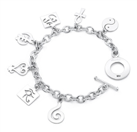 Insight Story Charm Bracelet in sterling silver