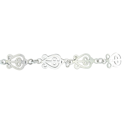 The Power of Love Link Bracelet in sterling silver