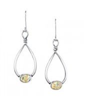 Emerita Opal Dangles in  sterling silver