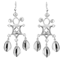 Adebola Chandeliers Earrings in sterling silver