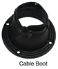 CABLE BOOT AND RING, 3""