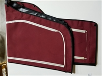 26X DODGER DOORS, SMALL, VINYL, BURGUNDY