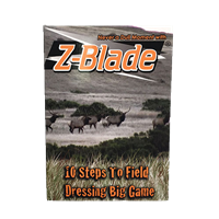Z-Blade Instructional Video - 10 Steps to Field Dressing Big Game